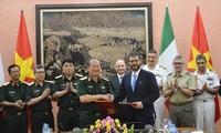 Celebran tercer Diálogo de Políticas de Defensa Vietnam-Italia
