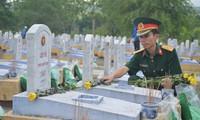 Diversas actividades en honor de los inválidos y mártires de guerra de Vietnam