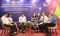 Celebran en Can Tho seminario sobre Tratado de Libre Comercio entre Vietnam y la UE