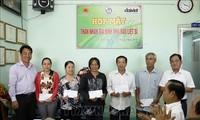 Prosiguen actividades en honor de inválidos y mártires de guerra en Vietnam