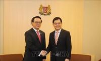 Delegación del Partido Comunista de Vietnam visita Singapur