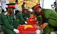 Honran a soldados vietnamitas sacrificados en campos de batalla de Camboya y Laos