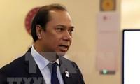 Centran tema sobre Mar del Este debates de reunión de cancilleres de Asean