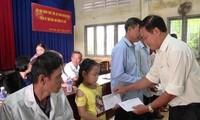 Tien Giang ayuda a mejorar la vida de víctimas del agente naranja