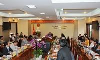 Gobierno de Vietnam inspecciona construcción de nuevo campo en provincia de Lam Dong