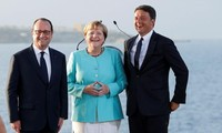 Germany, France, Italy seek ways to restore EU after Brexit
