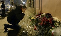 World community shows unity with Russia following St. Petersburg blast