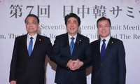 China, Japan, South Korea pledge joint effort on North Korea issue