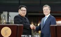 North, South Korean leaders optimistic about 2nd US-North Korean summit