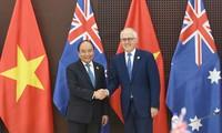 베트남-호주 수교 관계 전략적 파트너로 증진시킴으로 양국 관계 새로운 장 열려