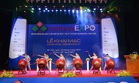 2018년 Vietnam Expo,  많은 하이테크 제품 전시