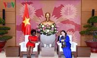 국회의장, Victoria Kwakwa 동아 – 태평양 지역 담당 세계 은행 부총재 접견