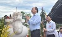 총리는 Quang Nam성에 전상병 열사의 날 기념식 참여
