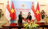 베트남 – 싱가포르 우호 다져