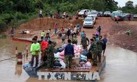 라오스 댐 붕괴… SK E&C, 주민들에 임시 주택 건설