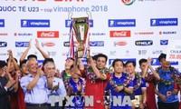 2018년 ASIAD : 베트남 U23 정식적으로 2018년 U23국제 축구 대회 2018 VinaPhone컵에서 챔피언 얻어