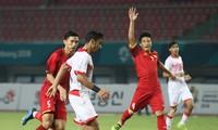 2018년ASIAD : 베트남 올림픽팀 Bahrain에 승리, 처음으로 준준결승전 진출
