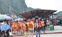 Quang Ninh성 , Lao Cai 성 Sa Pa 독립기념일을 맞아 수 많은 관광객 방문