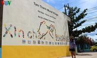 Quang Nam의 Tam Thanh 벽화 마을, 옛날 이야기 같이 아름다워