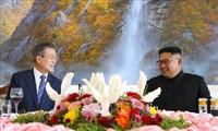 조선 및 한국, 올 11월 국회 회담 촉진