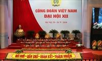 제12차 베트남 노총대회 개막