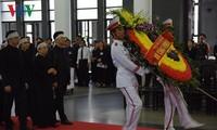 Tran Dai Quang국가주석의 엄숙한 장례식