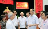 전국민, 국민 대표자의 Tran Dai Quang국가주석에 대한 애도