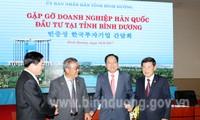 빈즈엉 성 행정 개혁 및 투자 유치에 대한 돌파구