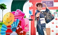 하롱시 문화유산지역에서의 해돋이 축제