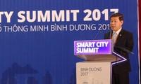 스마트 도시를 지향하는 빈즈엉 개발