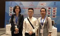 베트남, 인도에 화학물질 전시회에서 상품 홍보