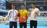 2018년 하계 청소년 올림픽, 응우엔 휘 황 (Nguyễn Huy Hoàng)선수 베트남 선수단에게 두번째 금메달 선사