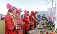 다오족의 신비한 풍속 Ban Vuong제사