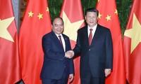 Nguyen Xuan Phuc총리, 중국 국가 주석, 총서기장 회견