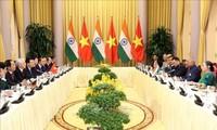 인도 Ram Nath Kovind대통령, 베트남 국빈방문 마무리