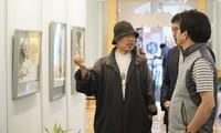 한국 유명 화백, 베트남에서 미술 전시회를 열어