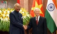 베트남 – 인도, 많은 분야에 쌍방 협력 강화