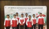 """하노이 학생들, 2018년 """"세계 수학 팀 챔피언"""" 대회에서 높은 성적 달성"""