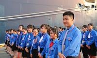 베트남 청년, 동남아-일본 청년 문화교류선 대표들과 문화 교류