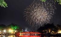 하노이의 기해년 구정을 맞이하는 활동들