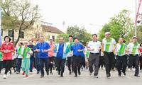 전국, 국민 건강을 위한 올림픽 달리기 날 개최