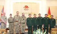 평화 유지 의무군 분야에 베트남 – 영국 협력 강화