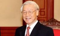 조선 정부의 새로운 정상 축하 메시지