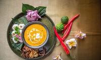 하노이에서 고급 태국음식 음미