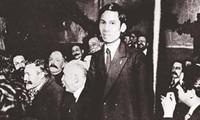 호찌민 주석에 대한 희귀한 자료 사진들