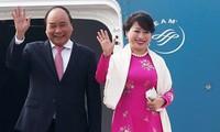 응우옌 쑤언 푹 (Nguyễn Xuân Phúc) 총리, 러시아, 노르웨이, 스웨덴 공식 방문 시작