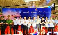 꽝닌 (Quảng Ninh) 번돈 (Vân Đồn) 국제공항, 첫 국제 항공편 맞이