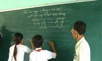 빈투언 (Bình Thuận)성 참 (Chăm) 소수민족의 고유한 언어 및 문자 보존