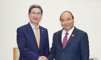 응우옌 쑤언 푹 (Nguyễn Xuân Phúc) 총리, 한-베 의원친선협회장 접견