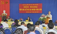 공산당, 정부 지도자들, 지방에서 투표권자 접촉 행사 진행
